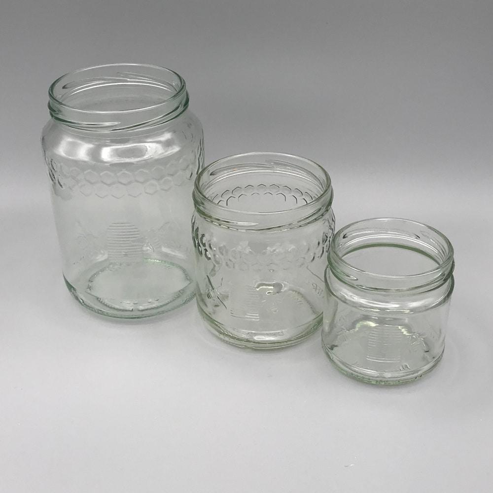 Gläser / Honigverkauf