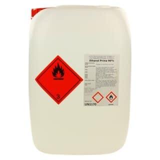 Alkohol - Ethanol - Weingeist 96% 25 ltr