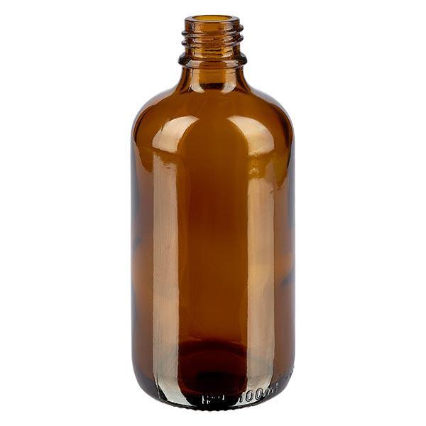 Tropfflasche 100 ml DIN 18 Braunglas