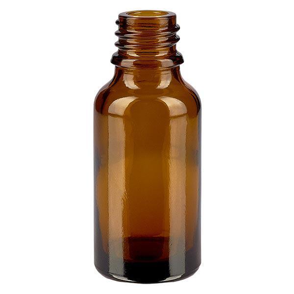 Tropfflasche aus Braunglas 20 ml
