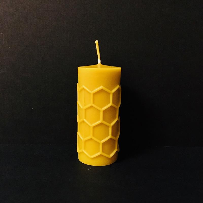 Bienenwachskerze Waben
