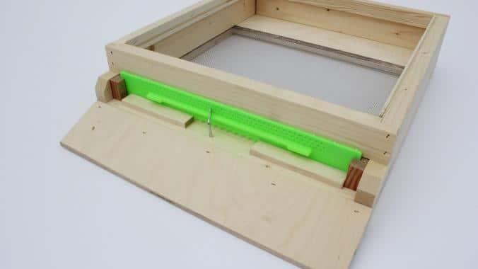 Gitterboden hoch aus Holz